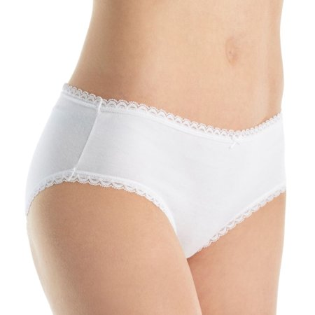 Maidenform One Fab Fit Cotton Stretch Hipster - White - - Modern Fit Hipster