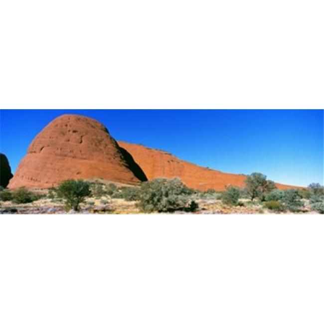 Panoramic Images PPI84407L The Olgas  Australia Poster Print by Panoramic Images - 36 x 12 - image 1 de 1