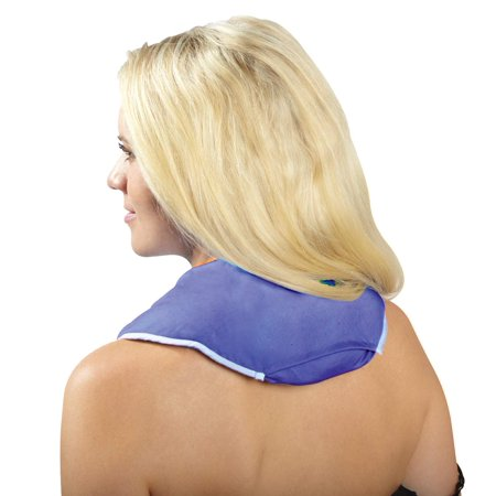ThermiPaq Microwave Heating Pad For Neck and Shoulders - Reusable Heated Neck Wrap for Neck Pain and Shoulder Pain, NECK AND SHOULDER HEAT WRAP..., By Thermi Paq (Microwave Heating Pad Flaxseed)