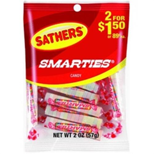 Sathers Smarties 12 pack (2 oz per pack) (Pack of 2)
