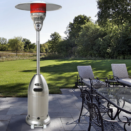 Dyna-Glo DGPH202SS 48,000 BTU Premium Stainless-Steel Patio Heater by GHP Group