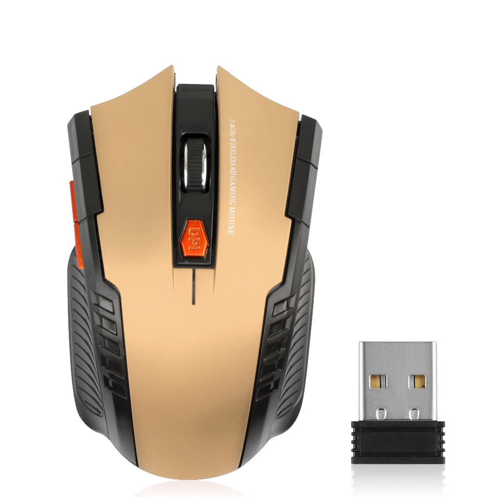 Yellow Lazmin Wireless Mouse 2.4G Wireless Mouse Bluetooth Optical Mouse 1600DPI for Mac//ME//Windows PC//Tablet Gaming Office