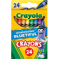 Deals on 2-Pack Bluetiful Crayola Classic Crayon 24 count