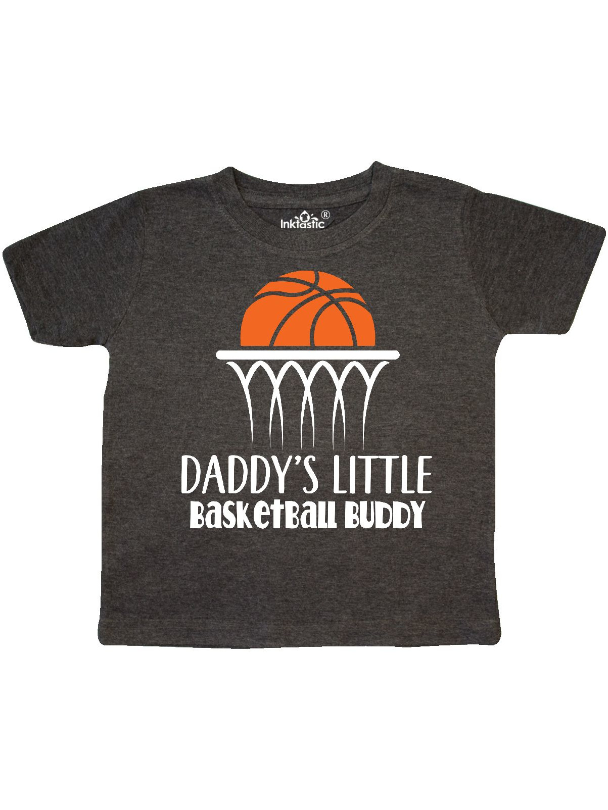 Daddys Little Basketball Buddy Boys Toddler T-Shirt