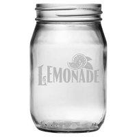 Susquehanna Gl Country Lemonade Drinking Jar Set Of 4