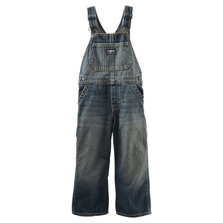 418b29fde Carters OshKosh Toddler Clothing Outfit Little Boys Denim Overalls ...
