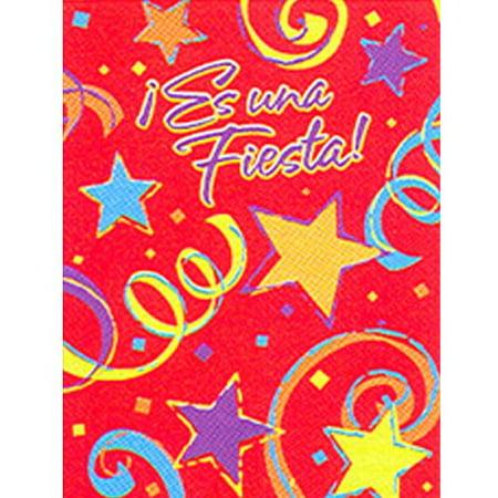 fiesta es una fiesta spanish invitations w envelopes 8ct