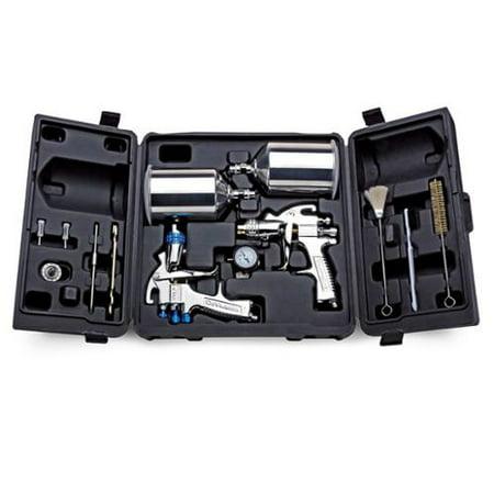 Hvlp Spray Gun Kit >> Devilbiss Startingline Auto Car Paint Priming Hvlp Spray Gun Kit