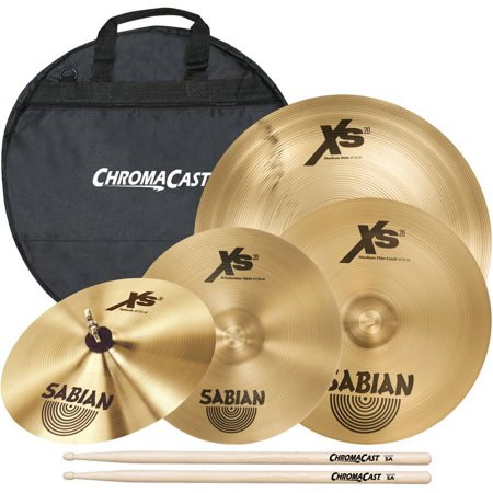 Sabian Complete Cymbal Set Includes 10
