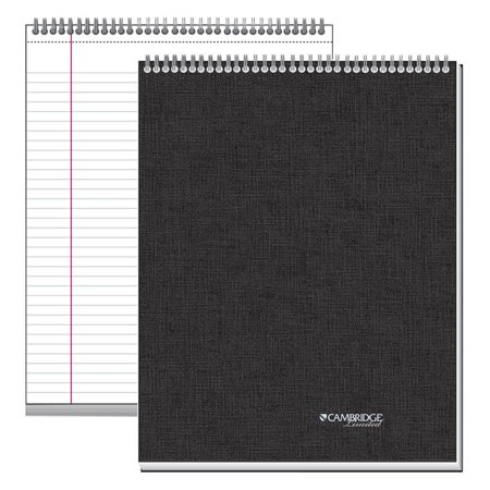 Mead, MEA06090, Top - Bound Twin - Wire Notebook - Letter, 1 (Polypropylene Twin Wire Notebook)