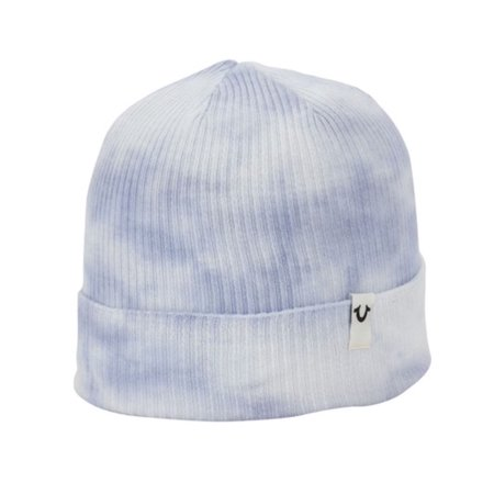 41b82274411 True Relgion - True Religion Men s Marble Dye Knit Beanie Cap Hat One Size  Dusk - Walmart.com