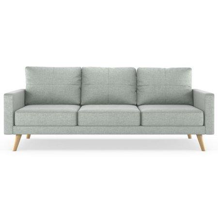 Corrigan Studio Cowden Mod Velvet Sofa Walmart Com