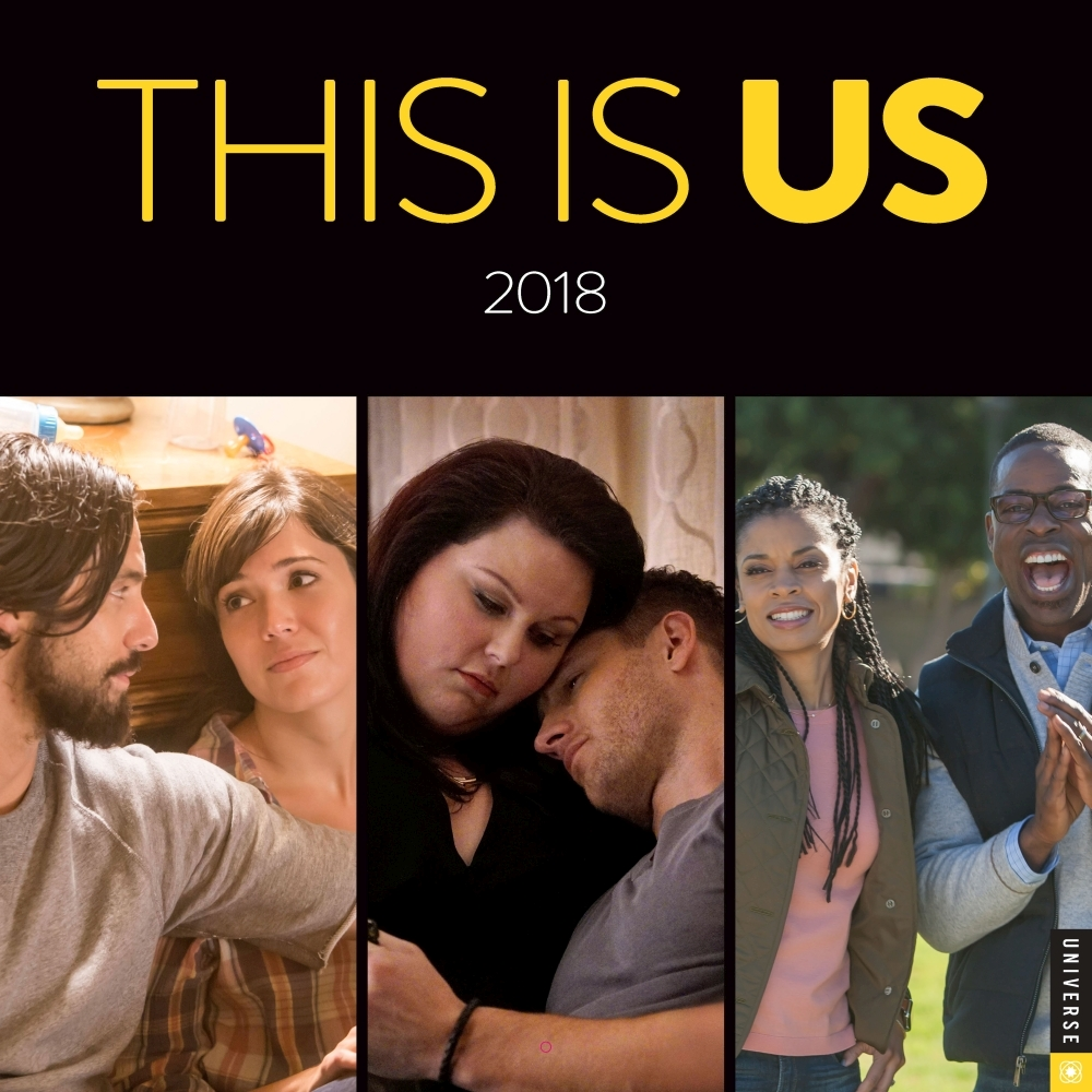 This Is Us Wall Calendar, Drama TV by Andrews McMeel Publishing