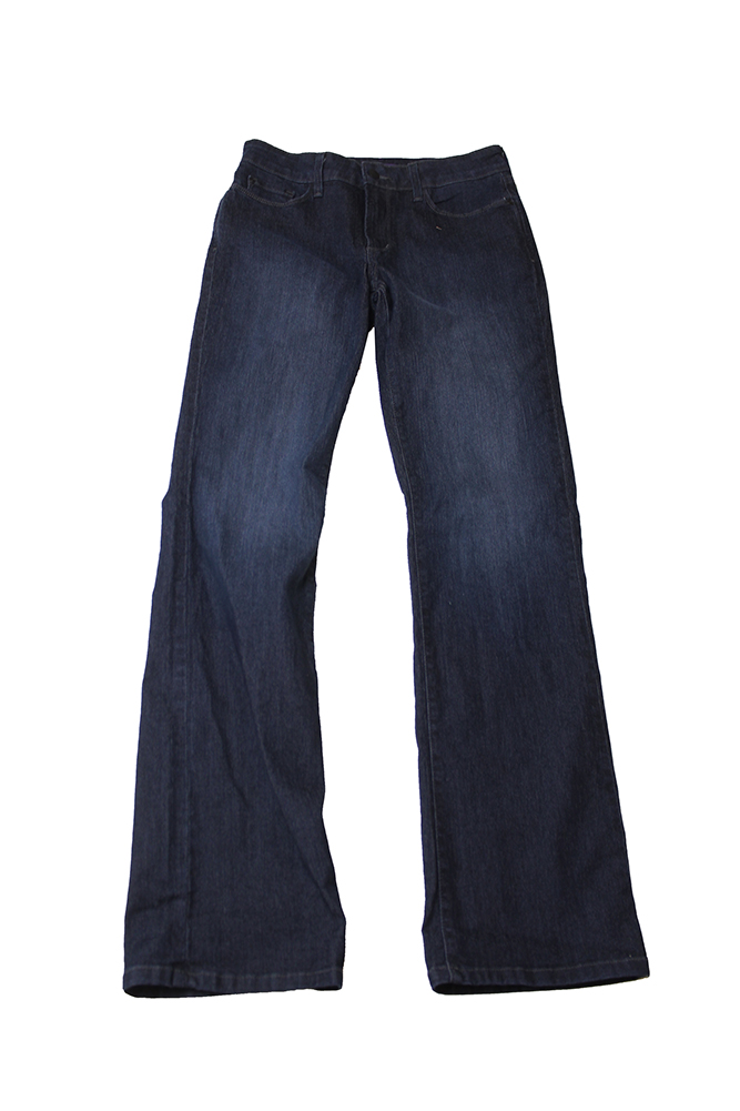 Nydj Burbank Wash Straight-Leg Jeans 4