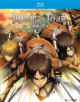 Attack on Titan: Complete Season One (Blu-ray) by Funimation