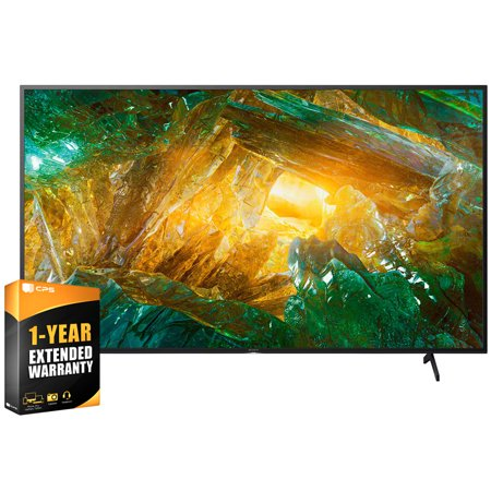 Sony XBR75X800H 75 inch X800H 4K Ultra HD LED Smart TV 2020 Model Bundle with Extended Care Package