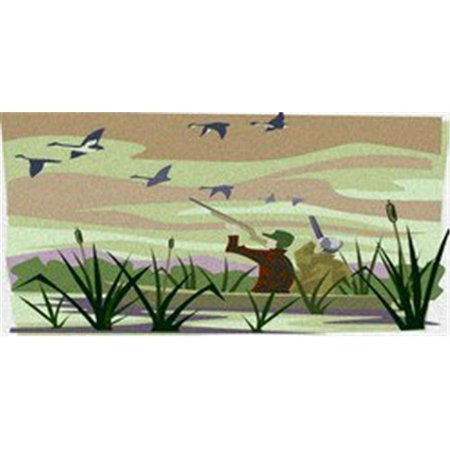 LP-2126 Duck Hunting Camo Camoflage License Plates - image 1 of 1