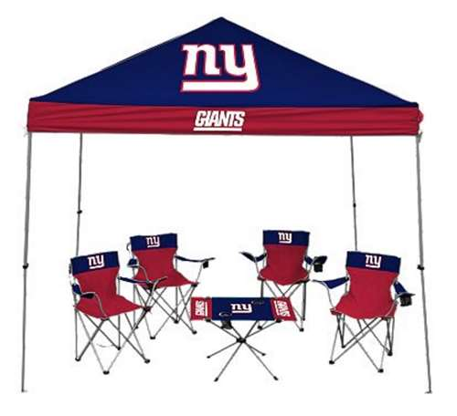 Rawlings New York Giants Tailgate Kit - Canopy - 4 Chairs...