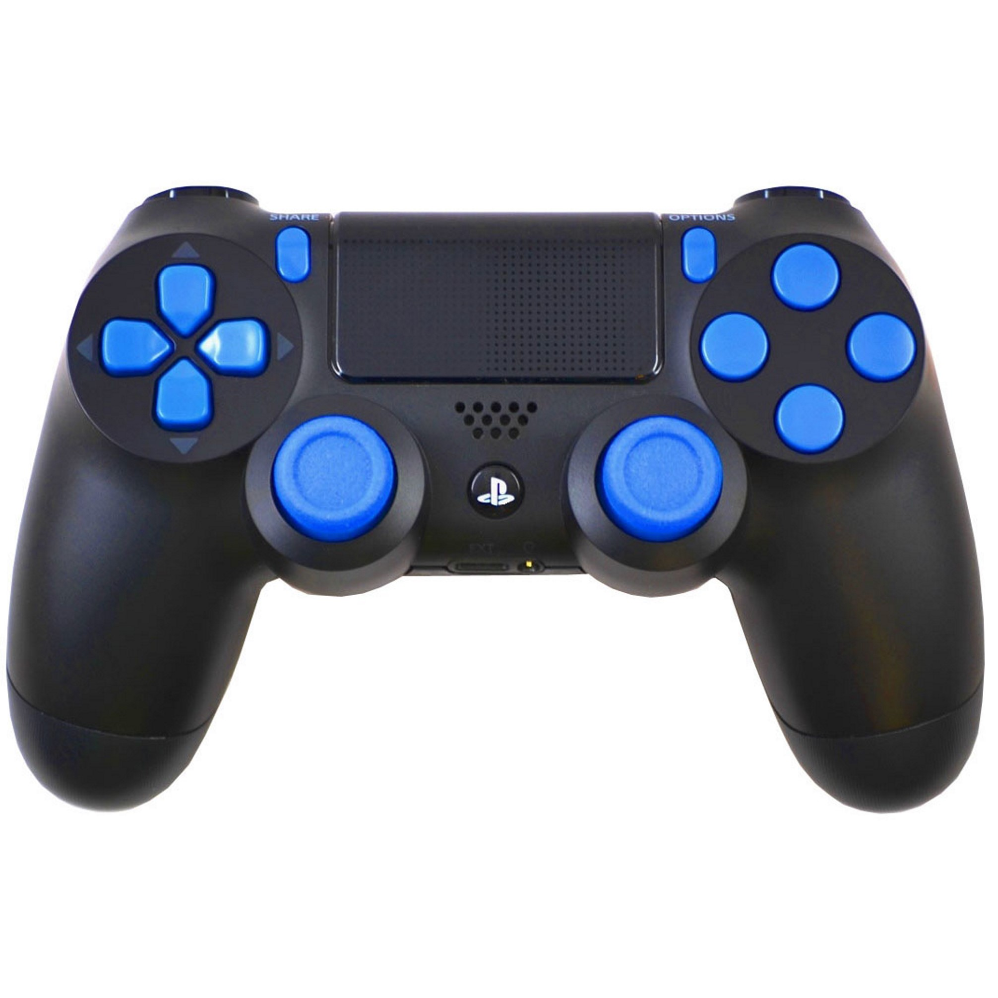 Blue Out Playstation 4 PS4 Modded Controller for ALL Games, Including Call of Duty Infinite Warfare, by Midnight Modz