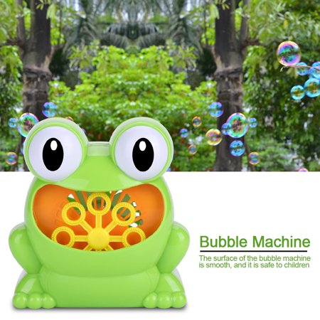 Bubbles Automatic Bubble Machine Blower Maker Kids Children Indoor Outdoor Parties Toys