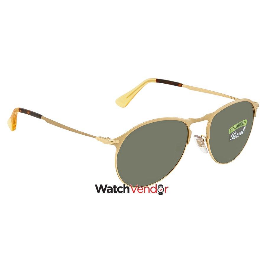 67b4e7660b Persol Polarized Green Sunglasses PO7649S 106958 53