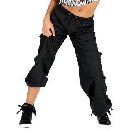 - Adult Unisex Cargo Pants with Drawstring Waist