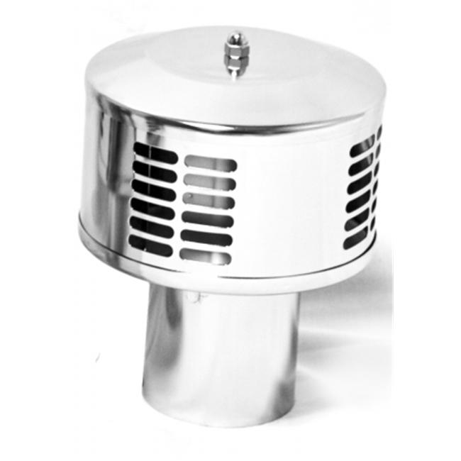 Dickinson Marine 18-080 5 in. Stainless DP Smoke Cap