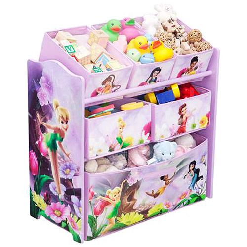 Disney - Tinker Bell Fairies Multi-Bin Toy Organizer