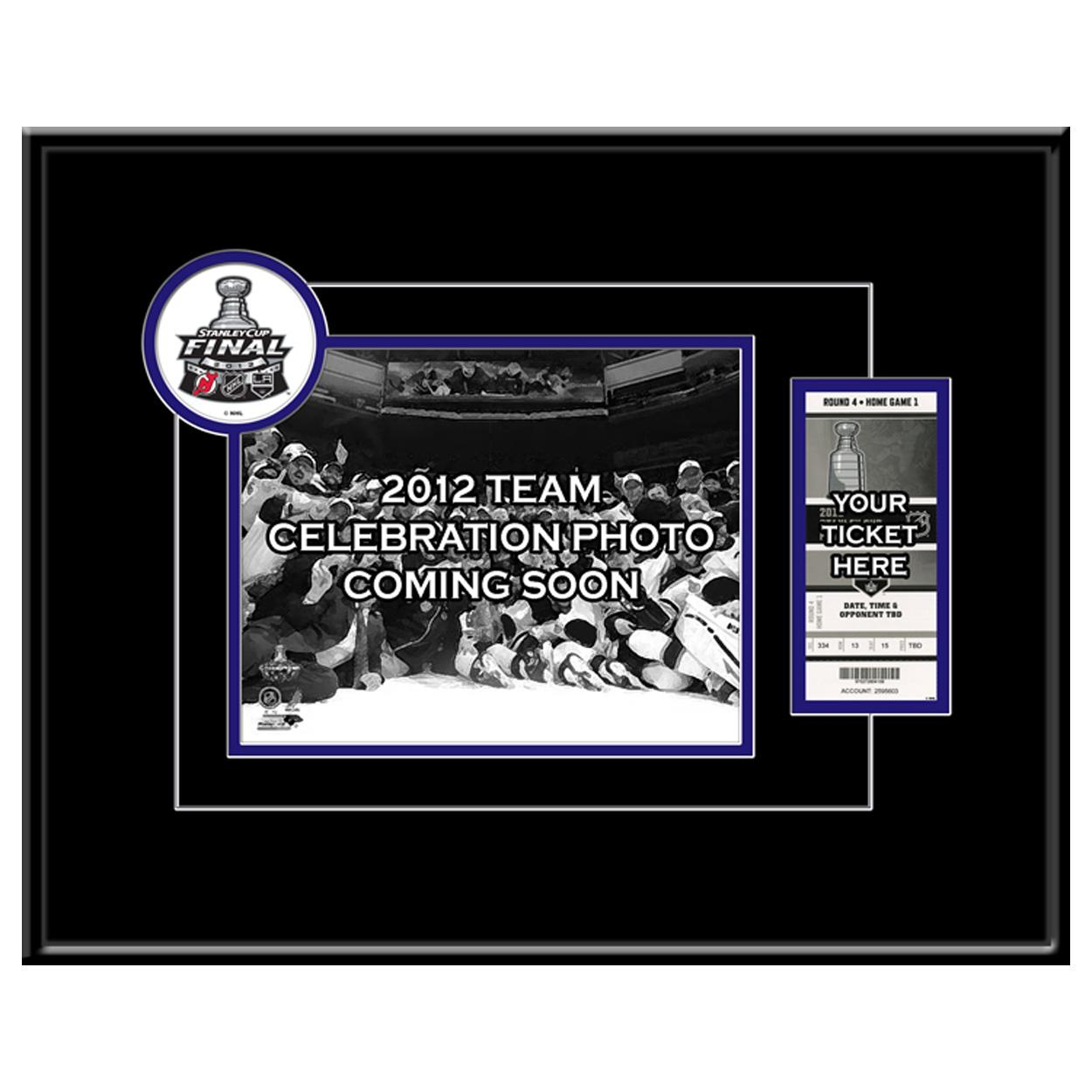 Los Angeles Kings 2012 Stanley Cup 8X10 Photo & Ticket Frame - Team Celebration Los Angeles Kings TF8HKYLAKSC12TC