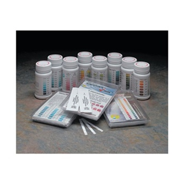 Test Strips, pH, 2-12ppm, PK 50