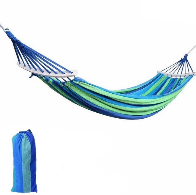 Hammocks for Camping Portable Garden Outdoor Adult Hanging Swing Seat Rope Bed