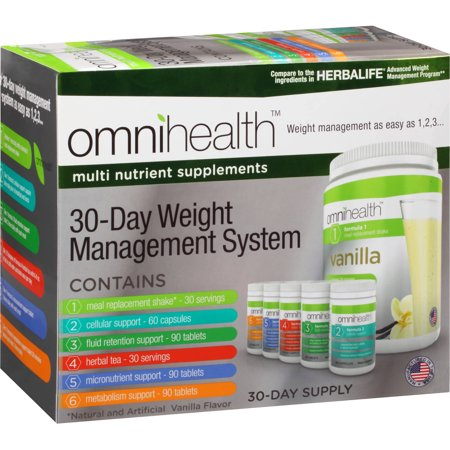 Omnihealth 30 Day Weight Management System 390 Count