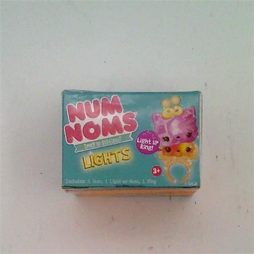 NEWEST Num Noms Lights Myster Pack Series 2.2 Blind Carton Light Up Ring! - Includes 1 Num, I Light Up Nom & 1 Ring. NEW HOLIDAY