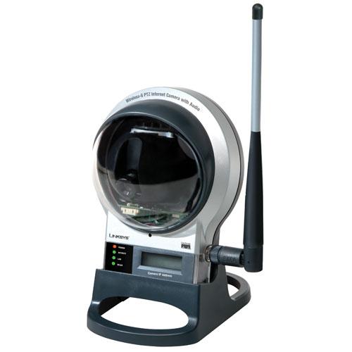 Linksys Wireless-G PTZ Internet Video Camera w/ Audio, WV...