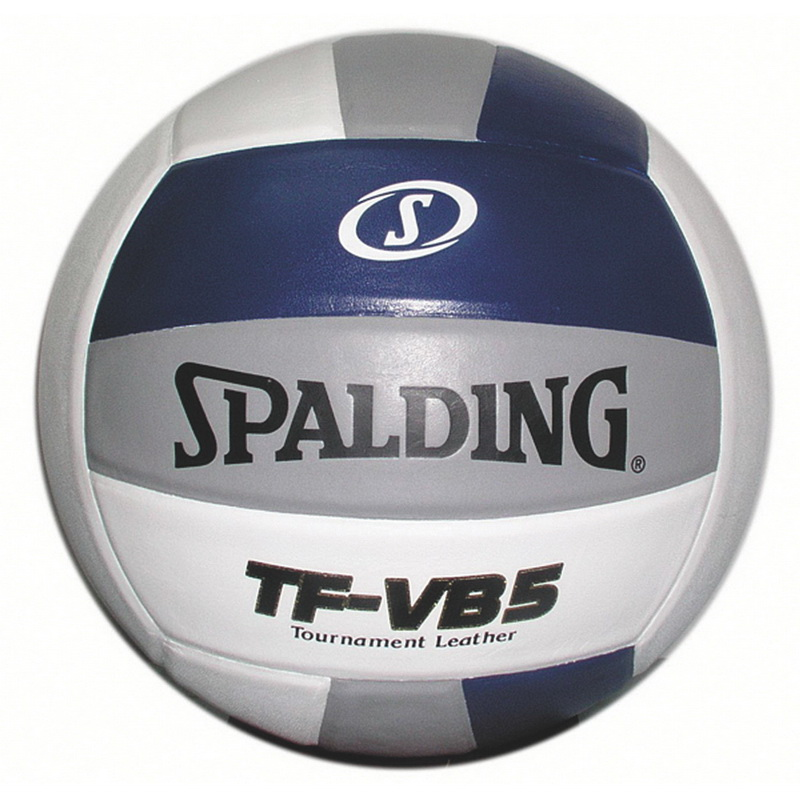Spalding Tf Vb5 Volleyball Navy White Silver