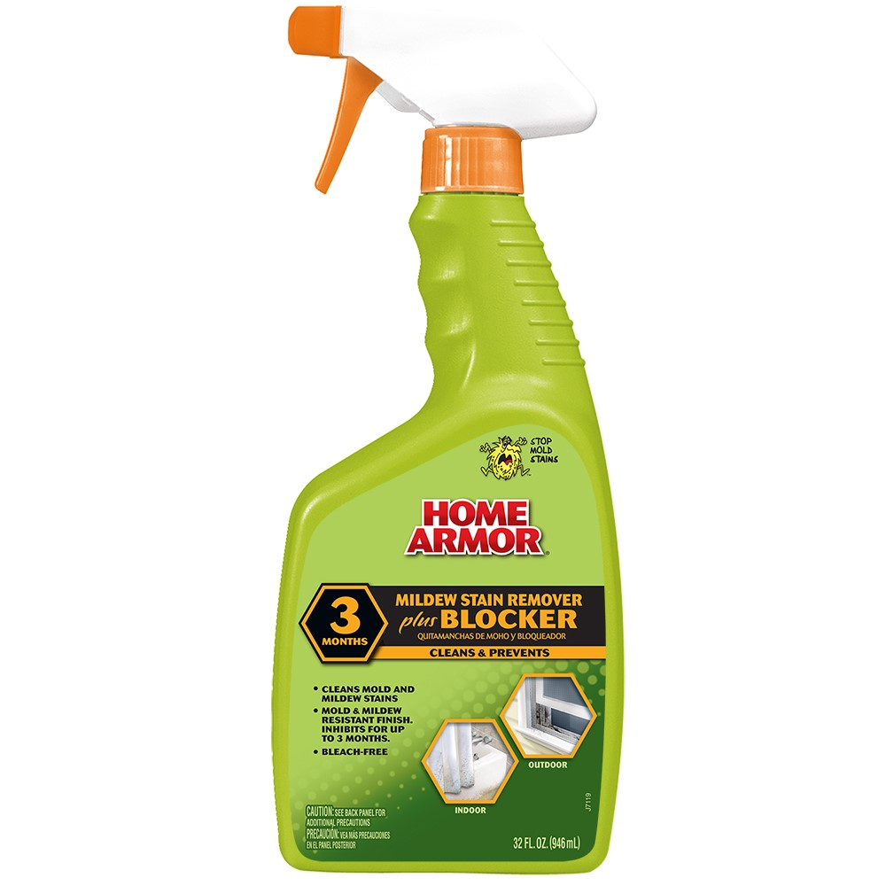 Home Armor Mildew Stain Remover Plus Blocker, Trigger Spray 32 Oz