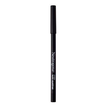 Neutrogena Smokey Kohl Water-Resistant Eyeliner, Jet Black, 0.014