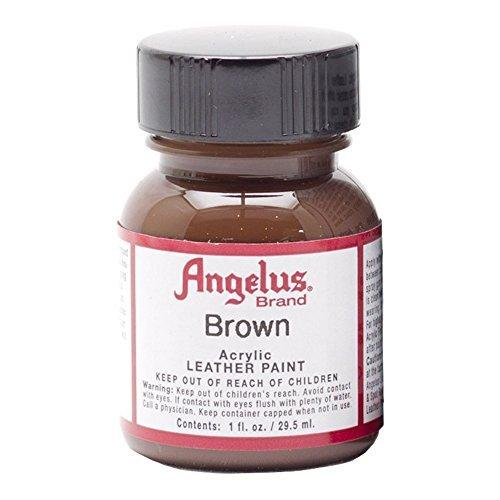 Angelus Leather Paint 1 Oz Brown