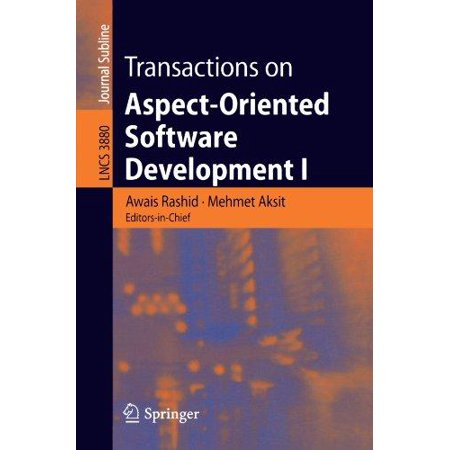 Transactions On Aspect Oriented Software Development I