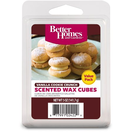Better homes gardens 5 oz vanilla cookie crunch value scented wax melts for Better homes and gardens wax melts
