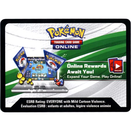 Pokemon X & Y Promo Swampert-EX Tin Code Card Single Online Code Card - The Cute Kid Promo Code