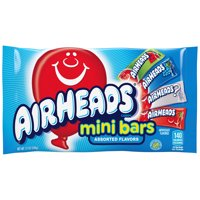 Airheads Candy Variety Bag, Individually Wrapped Assorted Fruit Mini Bars, 12 Ounces