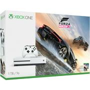 Microsoft Xbox One S 1TB Forza Horizon Bundle, White, 234-00105