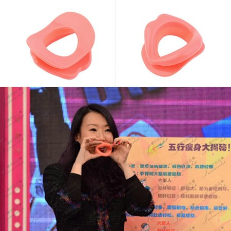 New Arrival Silicone Anti Wrinkle Anti Aging Face Slimmer Muscle Exercise Lip Trainer