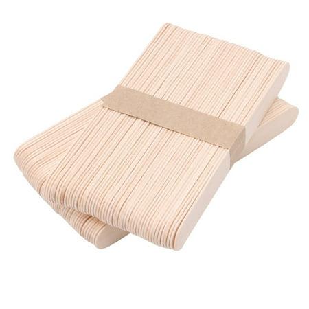 Ionica Small Wood 4 1/2 x 3/8 Wax Applicator Stick 100ct