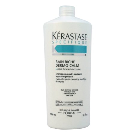 Kerastase Specifique Bain Riche Dermo-Calm Shampoo by Kerastase for Unisex - 34 oz Shampoo - image 1 of 1