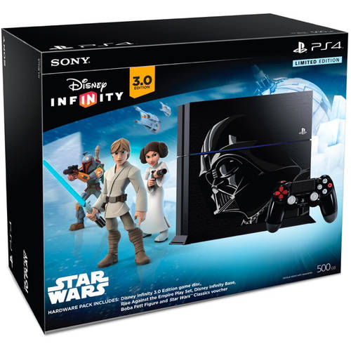 PlayStation 4 Disney Infinity 3.0 Limited Edition Star Wars 500GB Console Bundle (PS4)