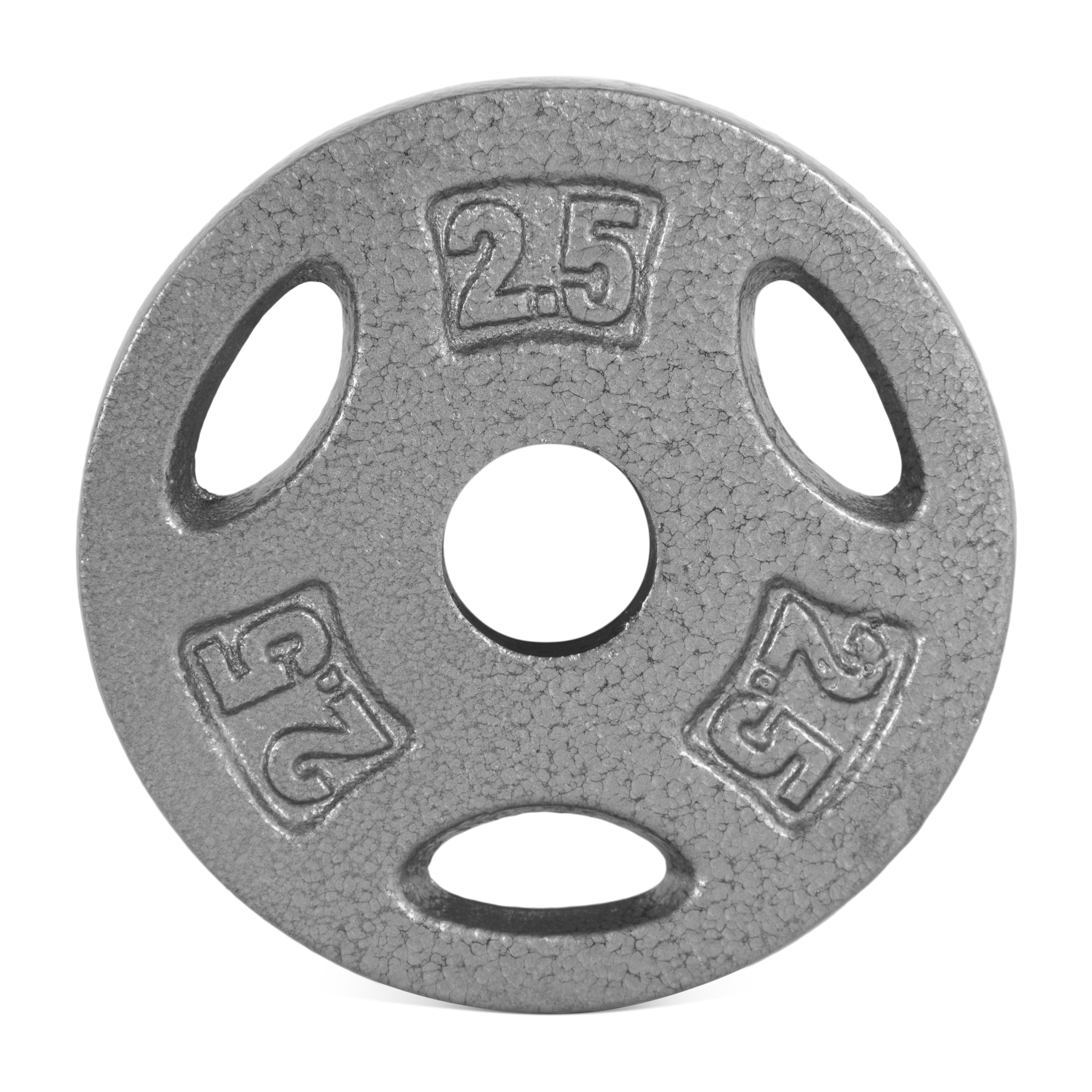"""Cap 20lb Total Olympic Plates Set Of Two 10LB Weights Cast iron Enamel Finish 2/"""""""