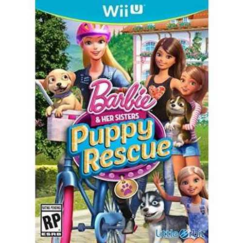 Refurbished Barbie and Her Sisters: Puppy Rescue - Wii U