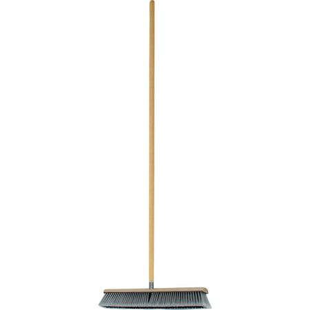 Genuine Joe, GJO60467, Heavy-duty Floor Sweep and Handle, 1 Each Block Medium Floor Sweep